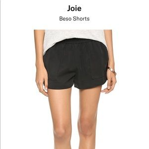 Joie Beso Shorts in Caviar Sz S & XS